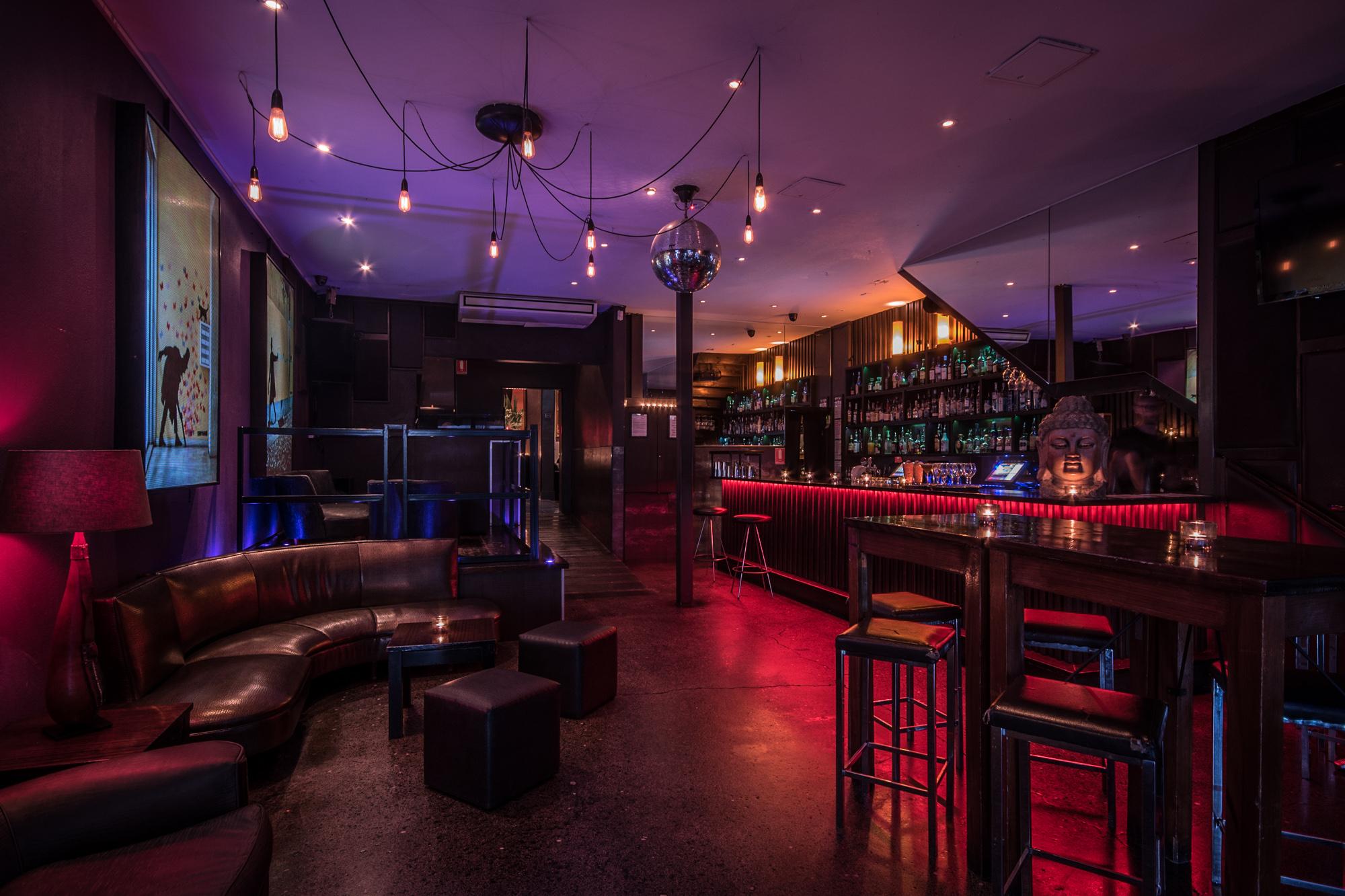 The Lounge shared bar