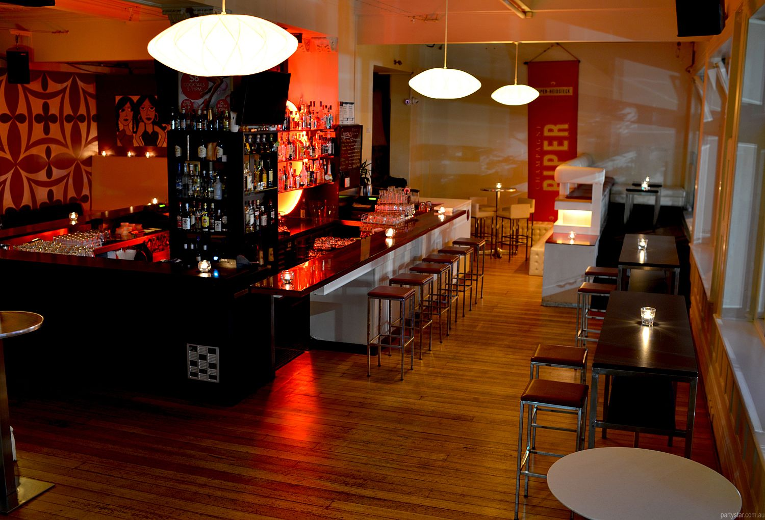 White Bar, St Kilda, VIC. Function Room hire photo #1