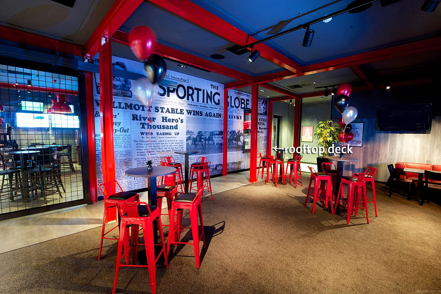 The Sporting Globe, Richmond, VIC. Function Room hire photo #4