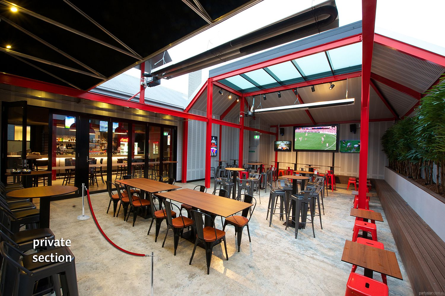 The Sporting Globe, Richmond, VIC. Function Room hire photo #5