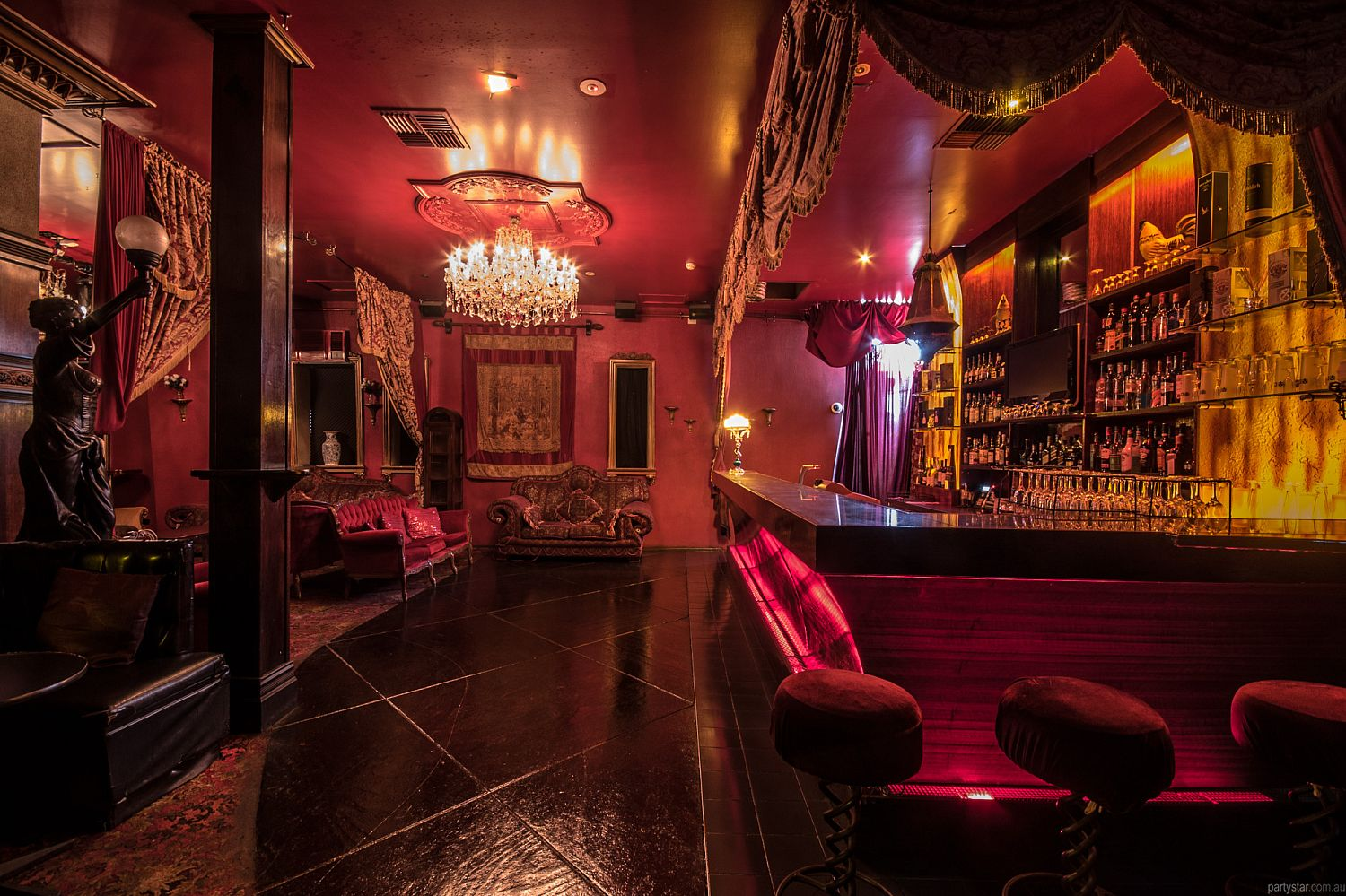 Chasers, South Yarra, VIC. Function Room hire photo #3