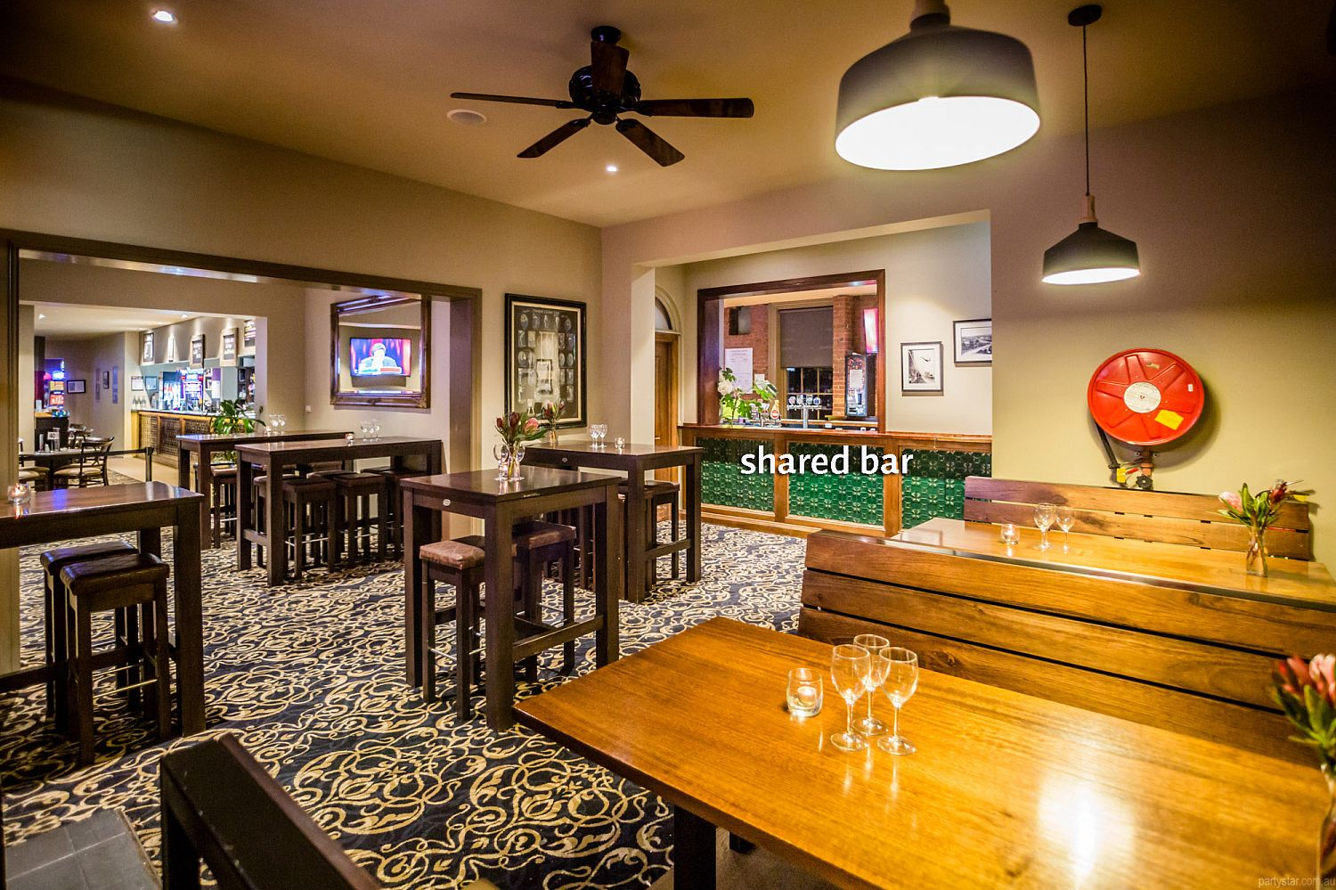 The Fyansford Hotel, Fyansford, VIC. Function Room hire photo #5