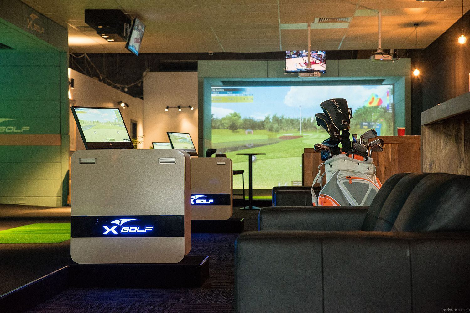 X-Golf, South Geelong, VIC. Function Room hire photo #1