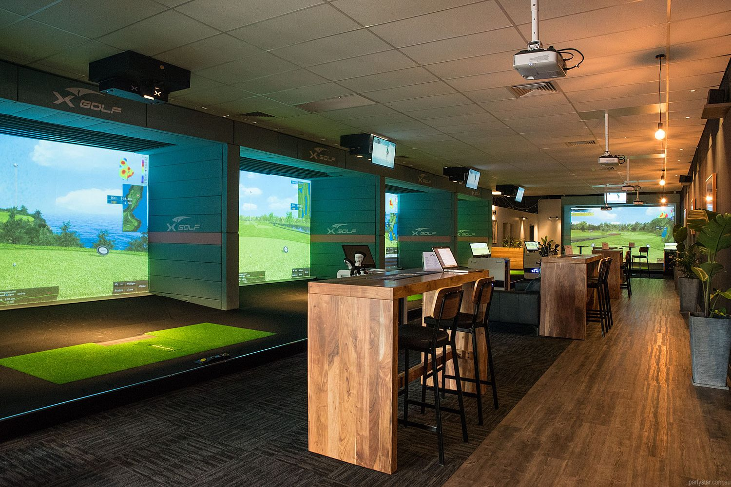 X-Golf, South Geelong, VIC. Function Room hire photo #2