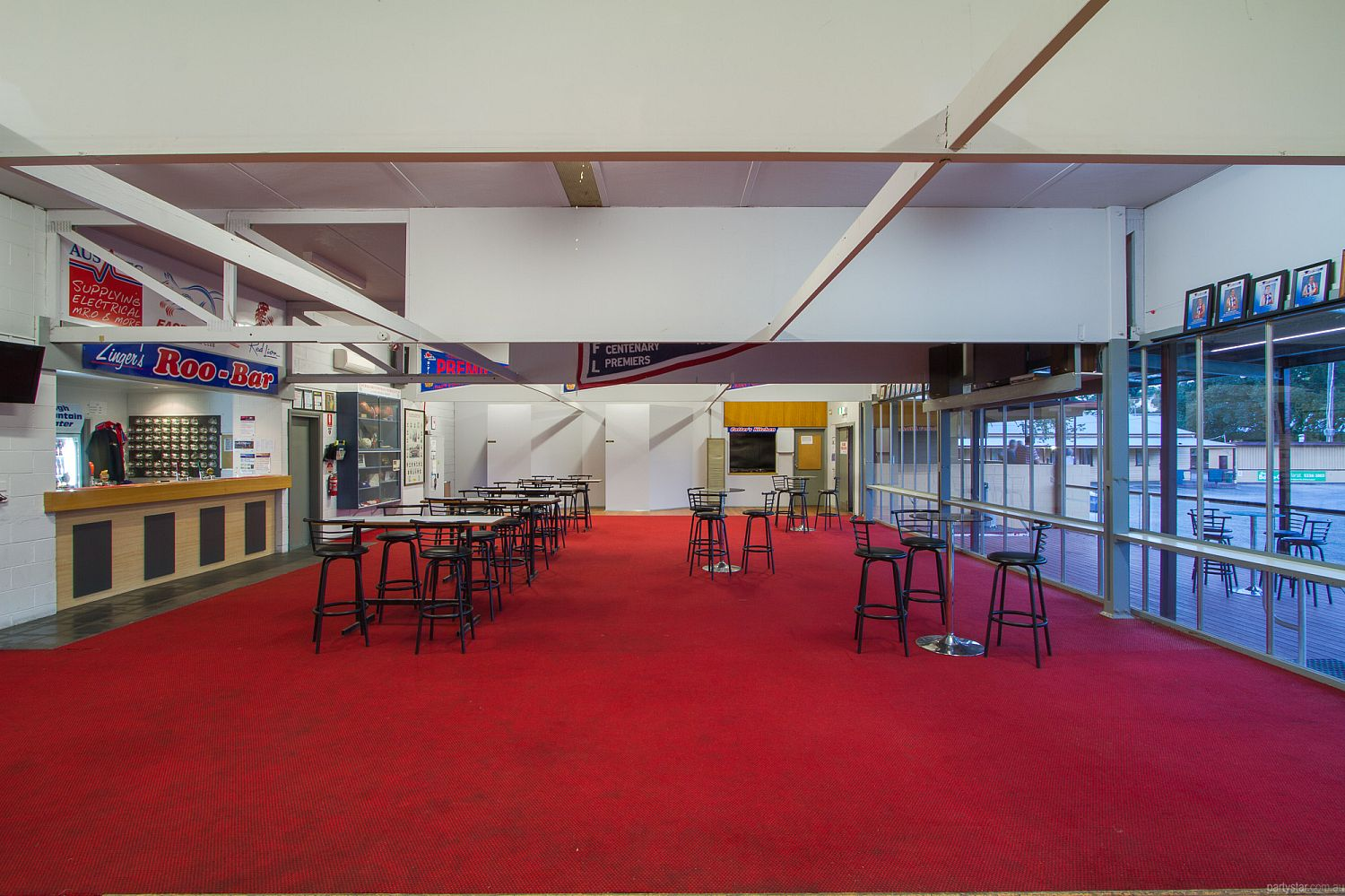 East Point Clubrooms, Ballarat, VIC. Function Room hire photo #1
