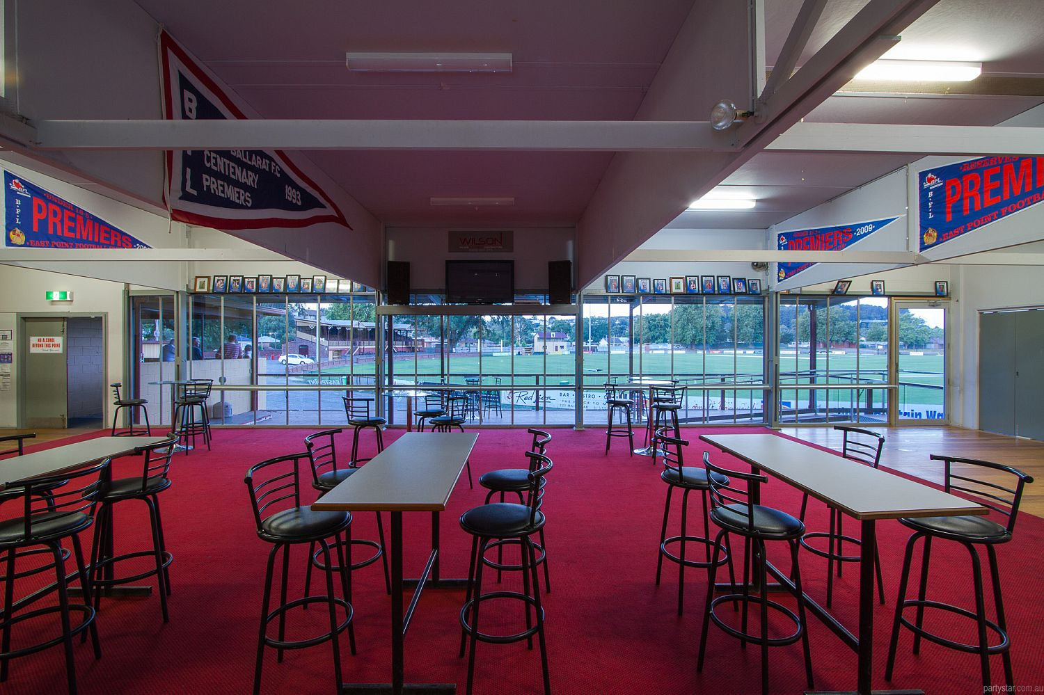 East Point Clubrooms, Ballarat, VIC. Function Room hire photo #4