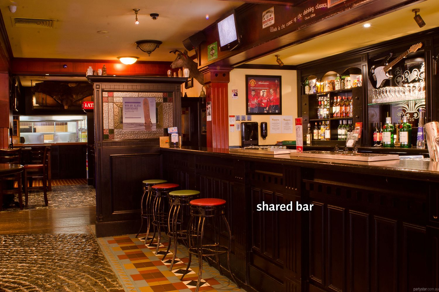 Waxy's Irish Pub, Surfers Paradise, QLD. Function Room hire photo #5