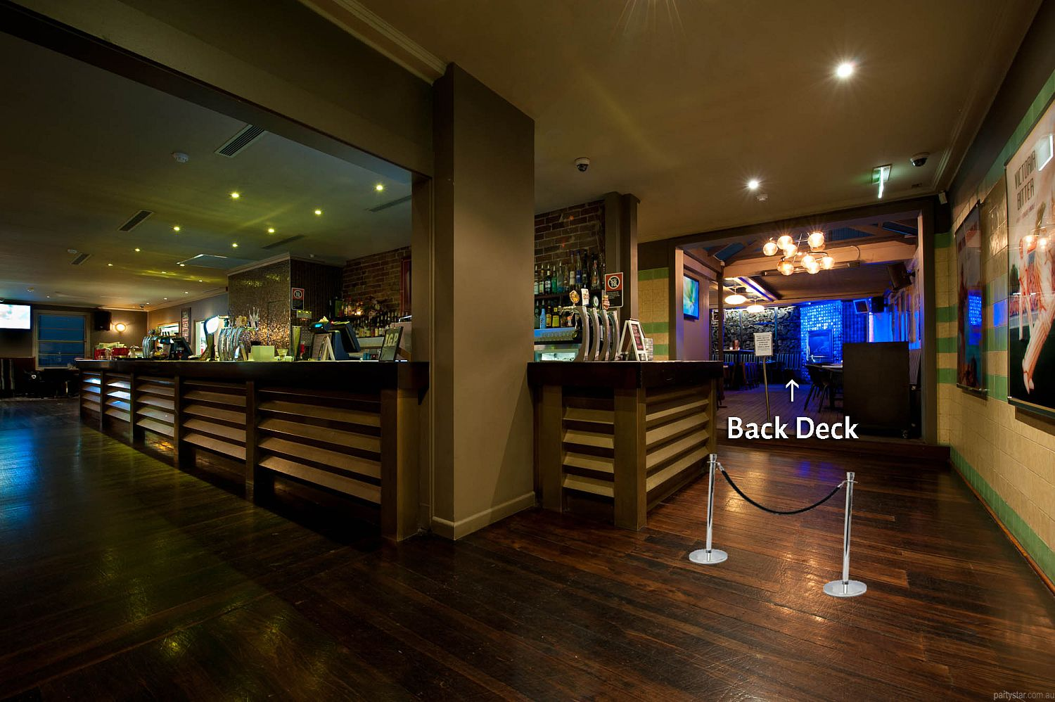 Tea Gardens Hotel, Bondi Junction, NSW. Function Room hire photo #1