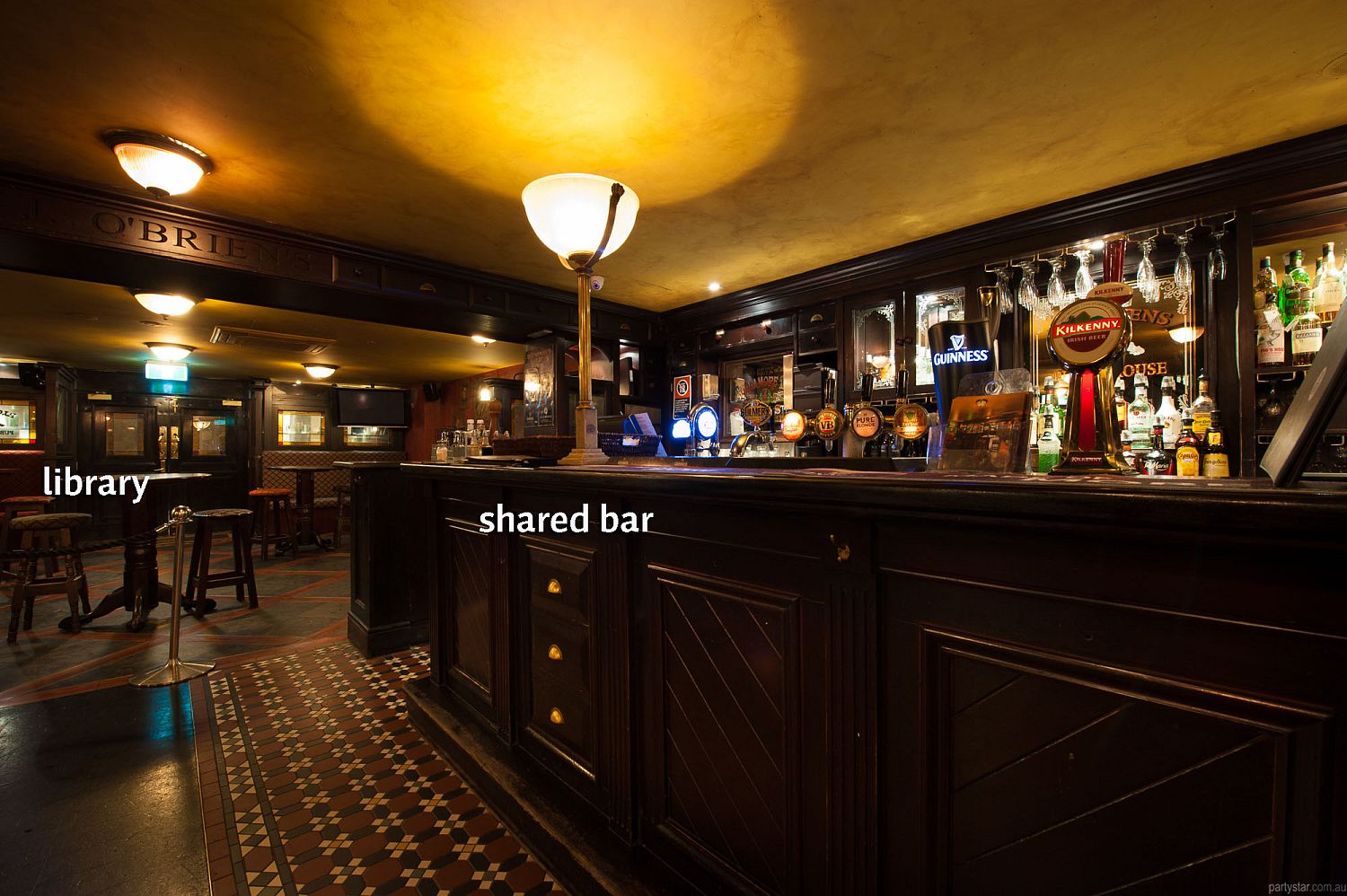 PJ O'Brien's, Sydney, NSW. Function Room hire photo #1