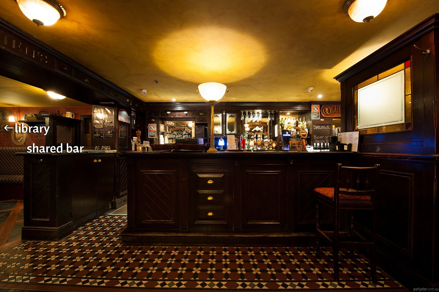 PJ O'Brien's, Sydney, NSW. Function Room hire photo #5