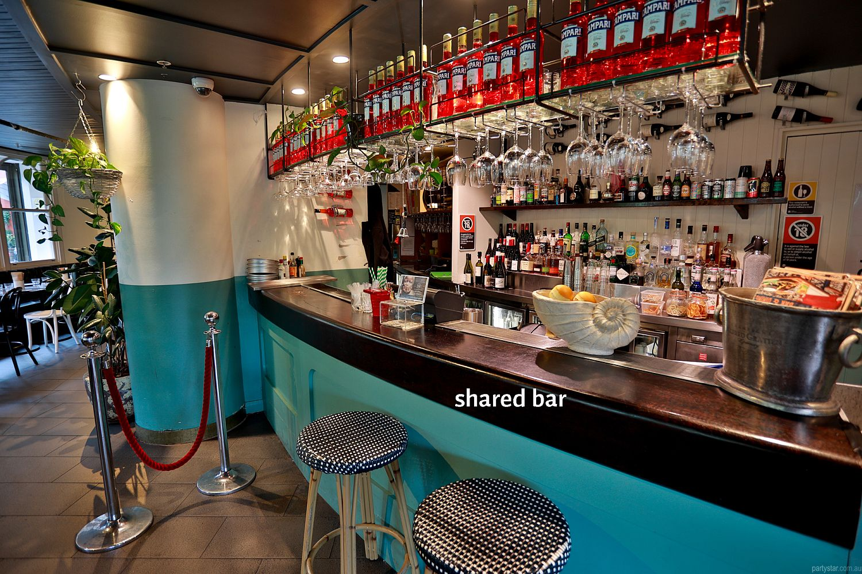 Gazebo Wine Bar, Elizabeth Bay, NSW. Function Room hire photo #4