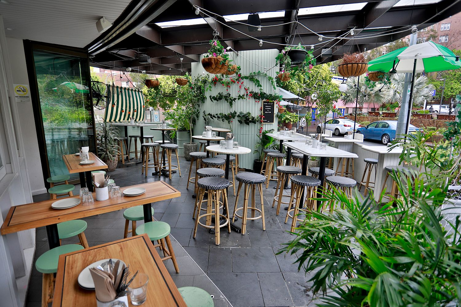 Gazebo Wine Bar, Elizabeth Bay, NSW. Function Room hire photo #2
