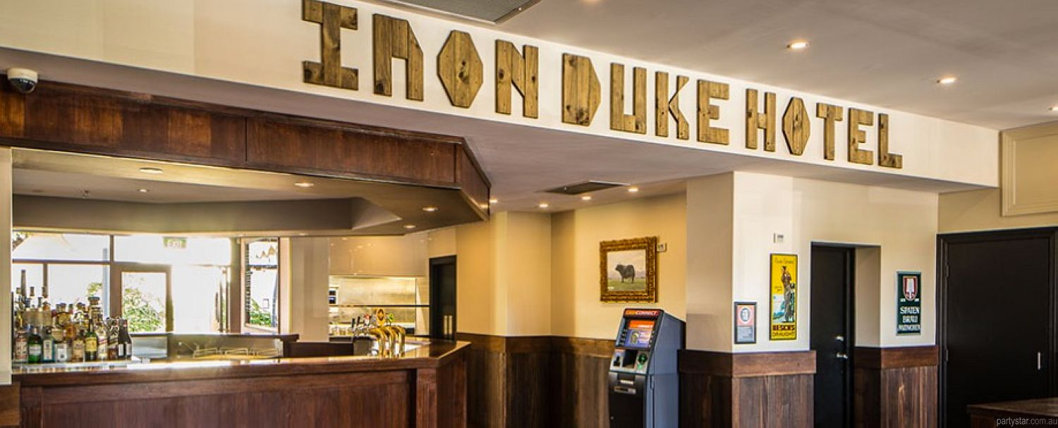 Iron Duke Hotel, Alexandria, NSW. Function Room hire photo #2