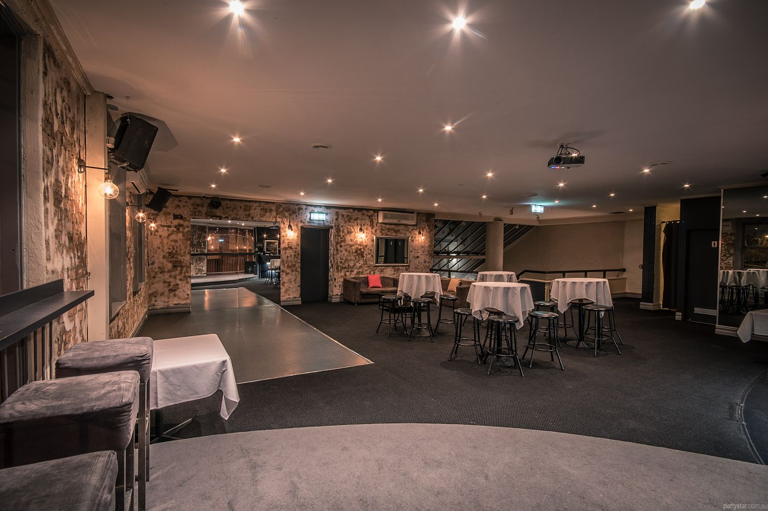 Castle Hotel Upstairs Function Room In North Melbourne