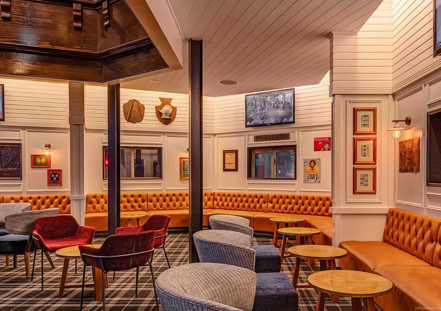 General Bourke, Parramatta, NSW. Function Room hire photo #4
