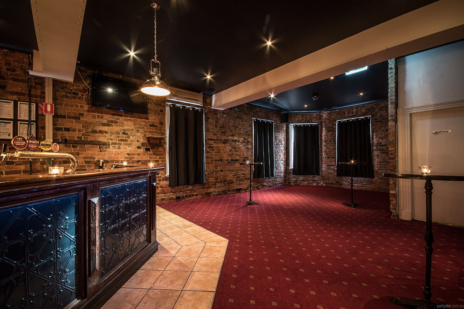 Elgin Inn Hotel, Hawthorn, VIC. Function Room hire photo #2