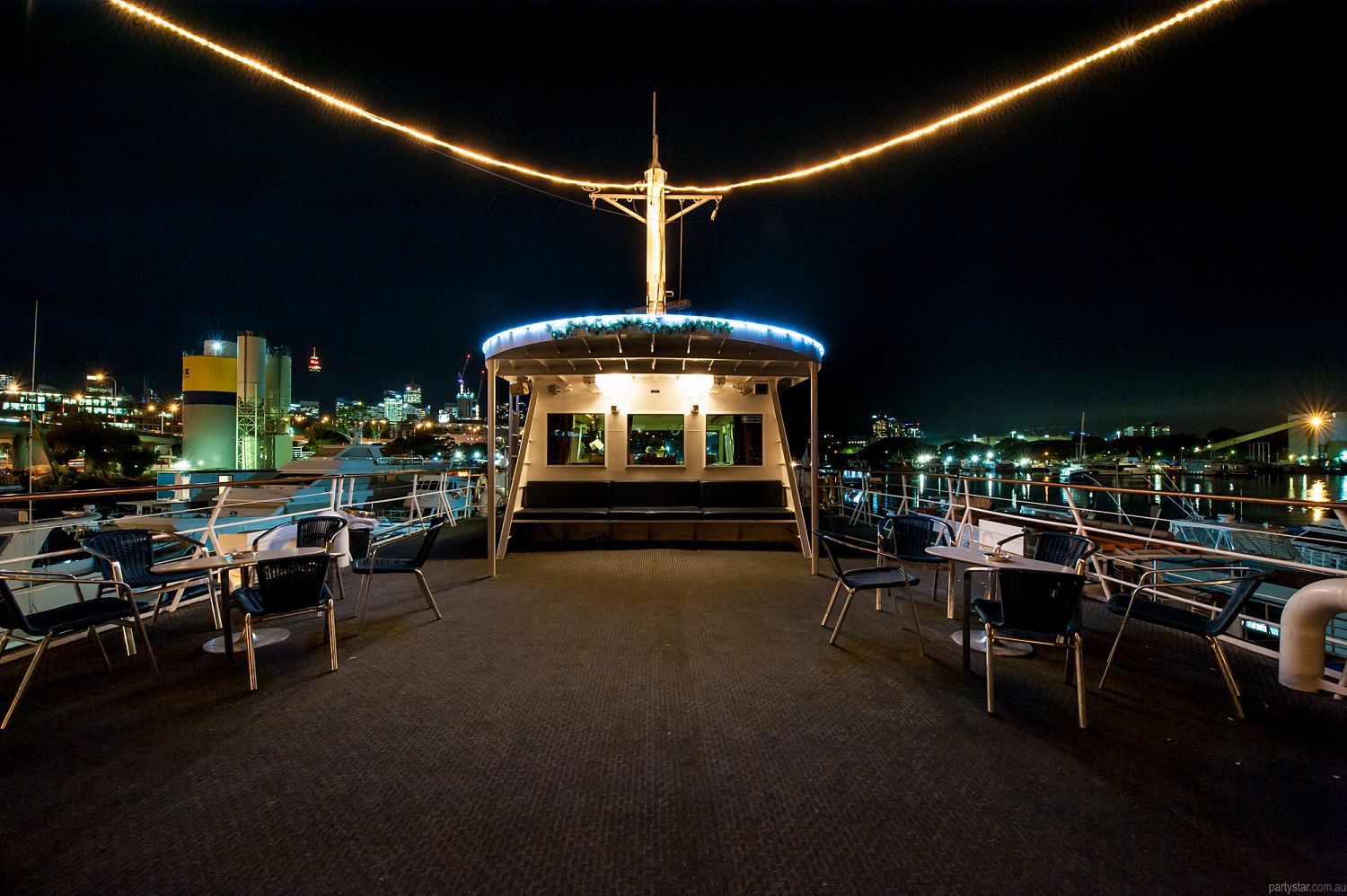 Vagabond Cruises, Pyrmont, NSW. Function Room hire photo #1