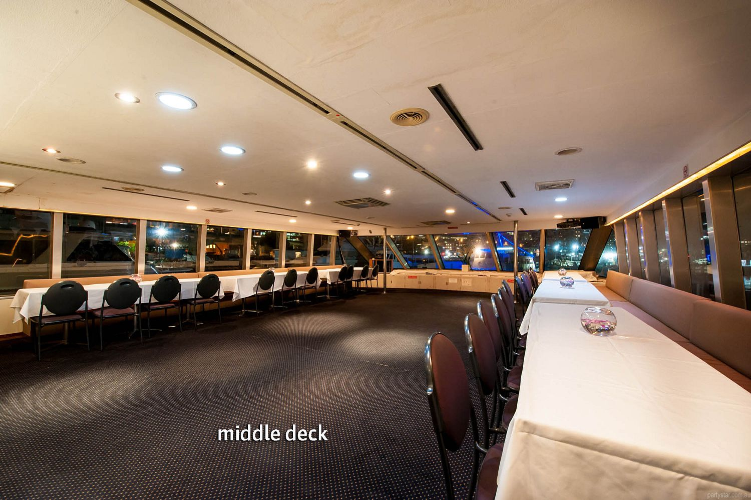 Vagabond Cruises, Pyrmont, NSW. Function Room hire photo #4