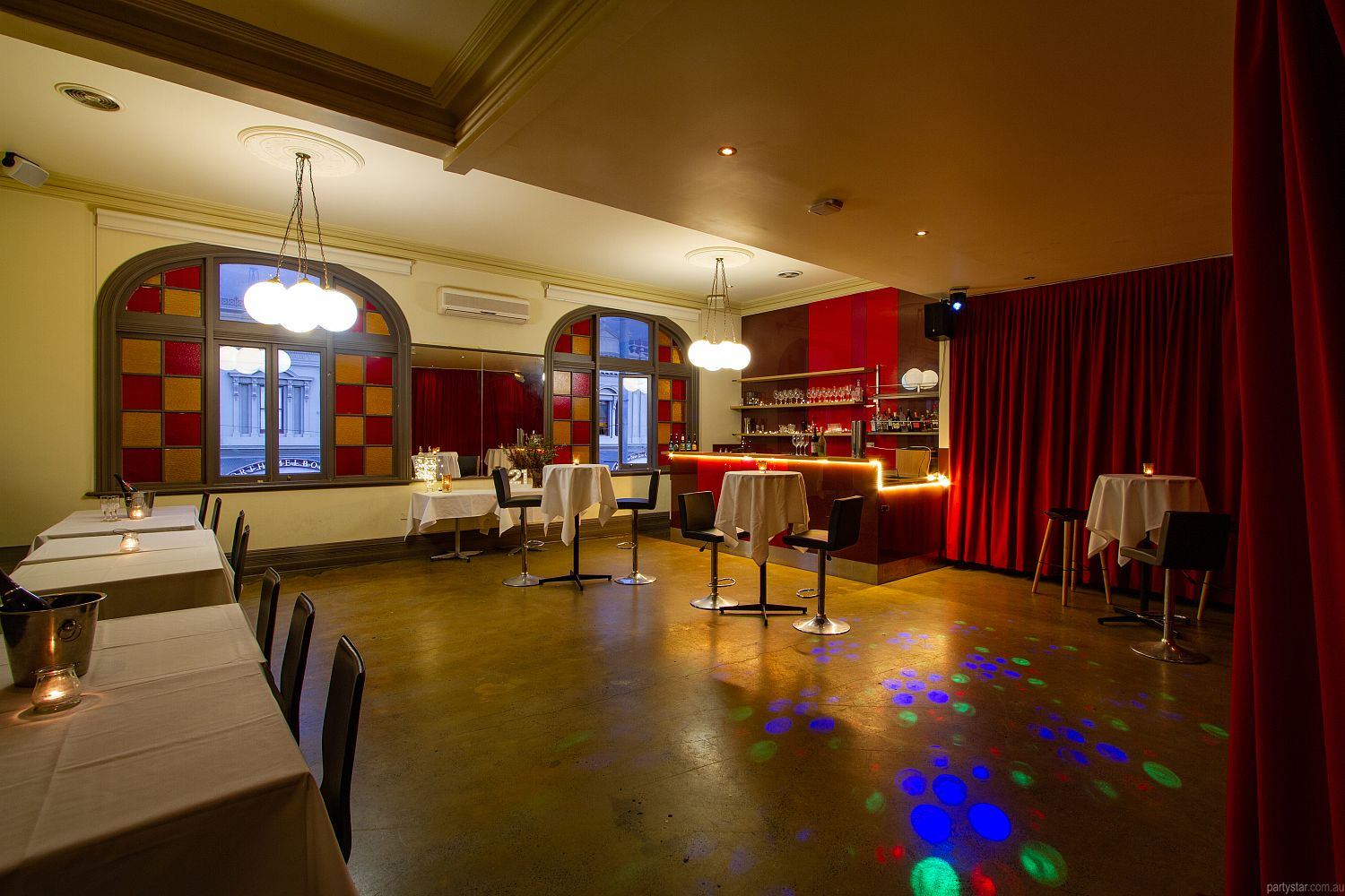 Upstairs at Errol's, North Melbourne, VIC. Function Room hire photo #3