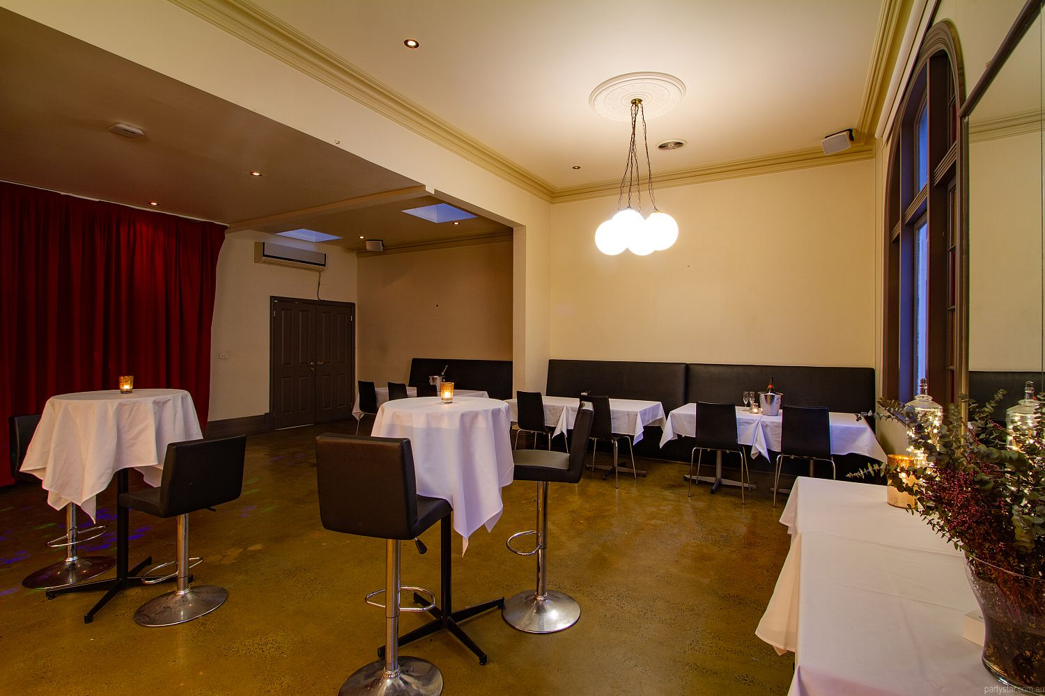 Upstairs at Errol's, North Melbourne, VIC. Function Room hire photo #5