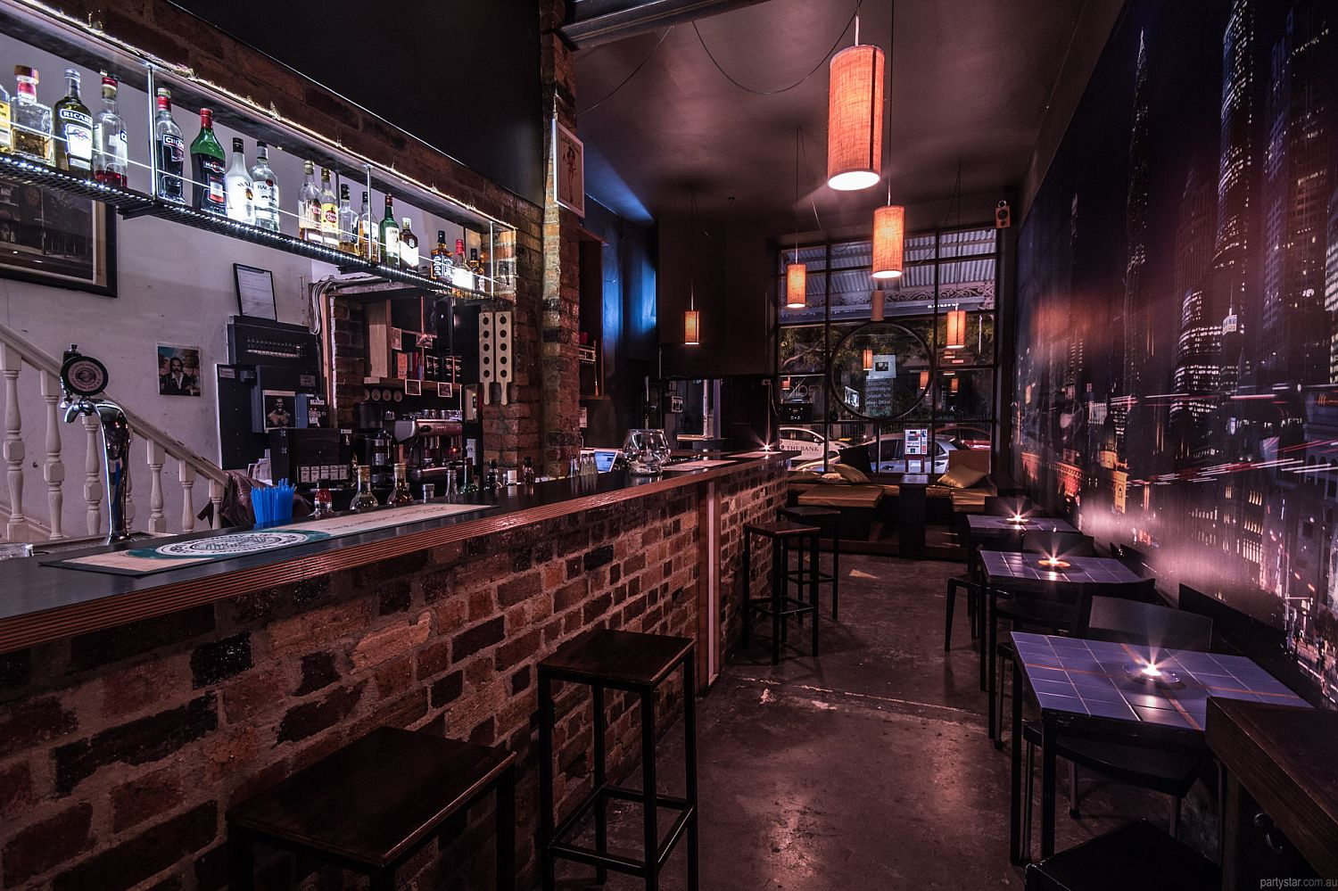 Radio Bar, Fitzroy, VIC. Function Room hire photo #1