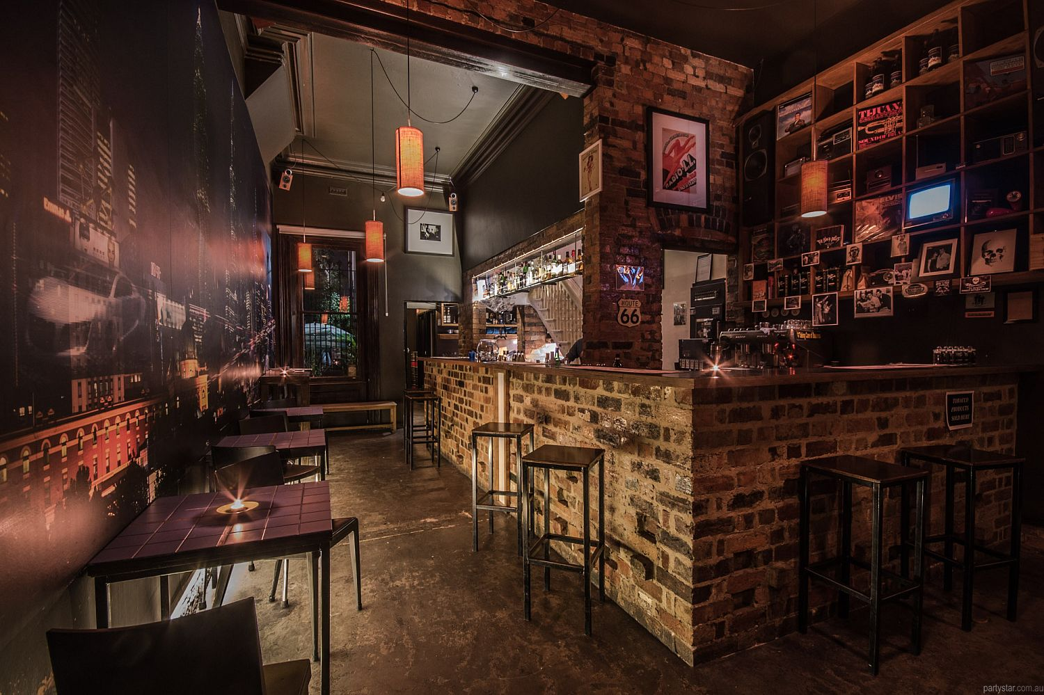 Radio Bar, Fitzroy, VIC. Function Room hire photo #3