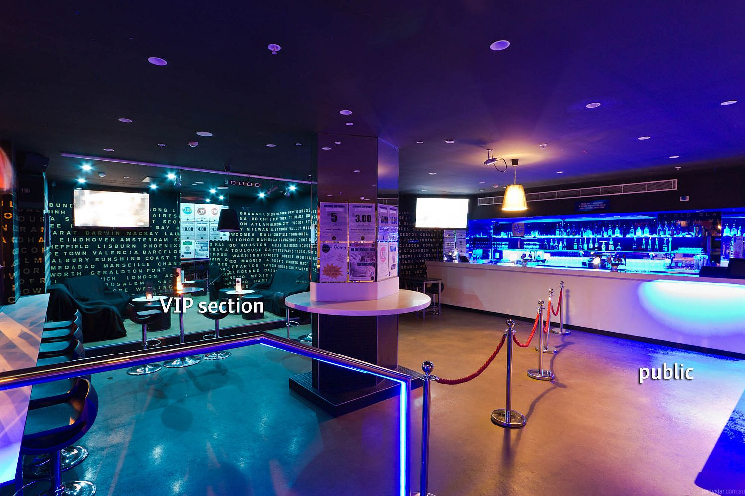 Blue Moon Bar, Melbourne, VIC. Function Room hire photo #1