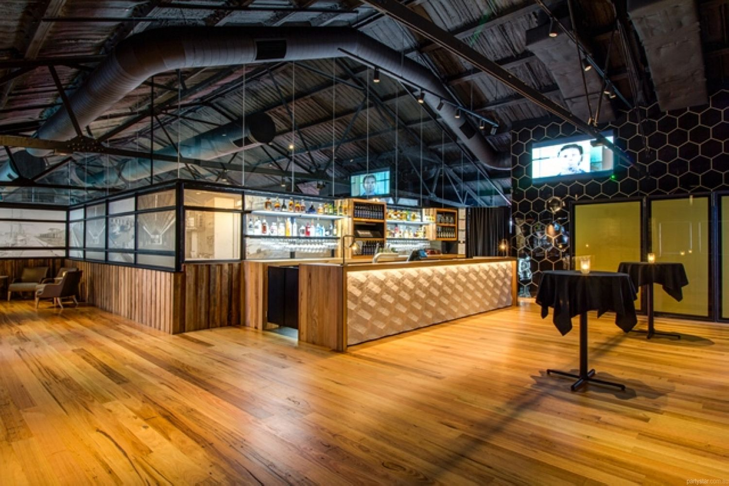 Woolshed, Docklands, VIC. Function Room hire photo #1