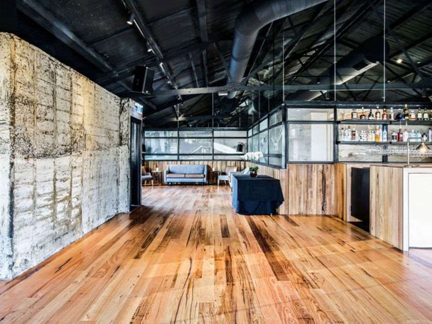 Woolshed, Docklands, VIC. Function Room hire photo #2