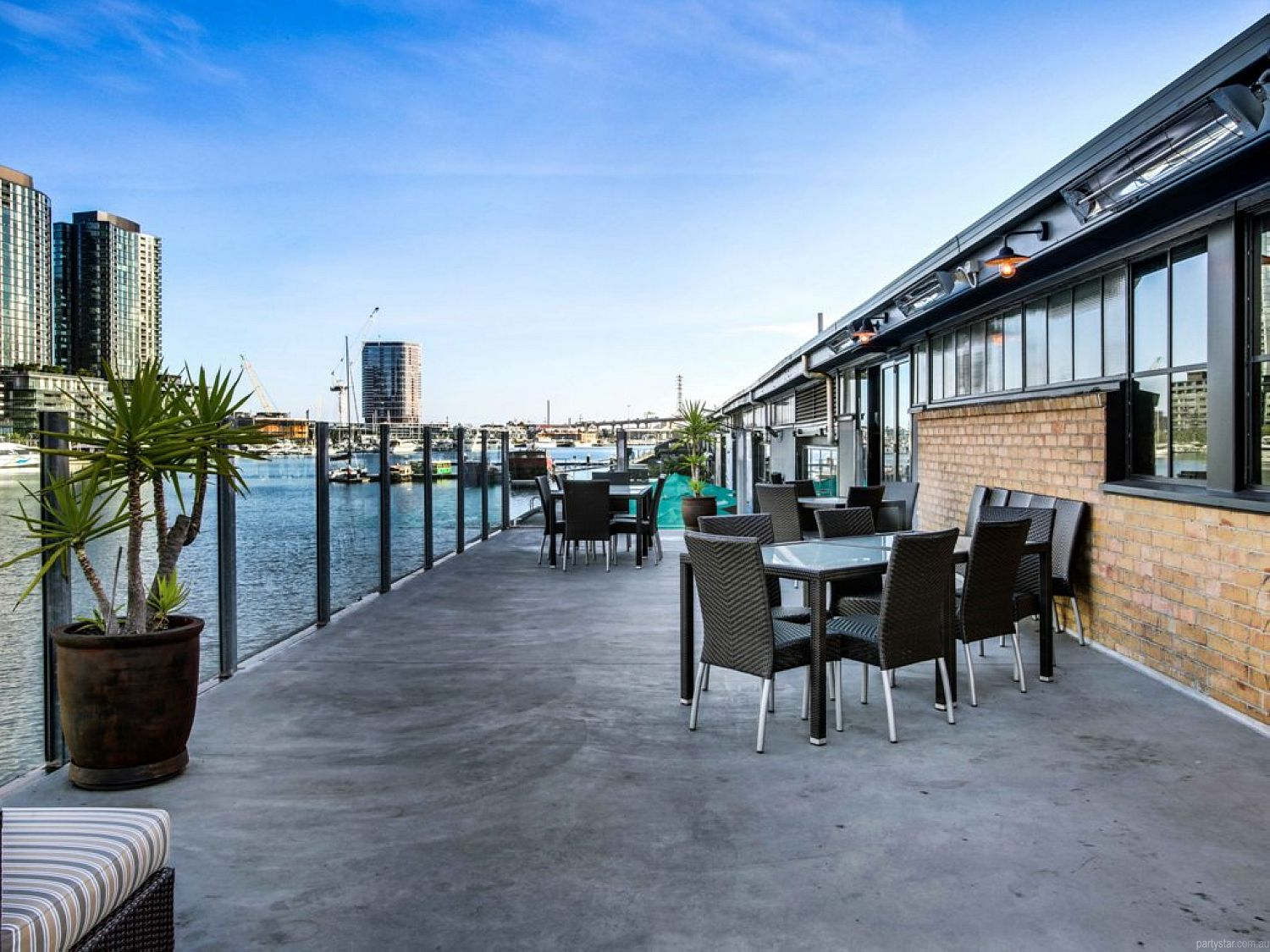 Woolshed, Docklands, VIC. Function Room hire photo #5