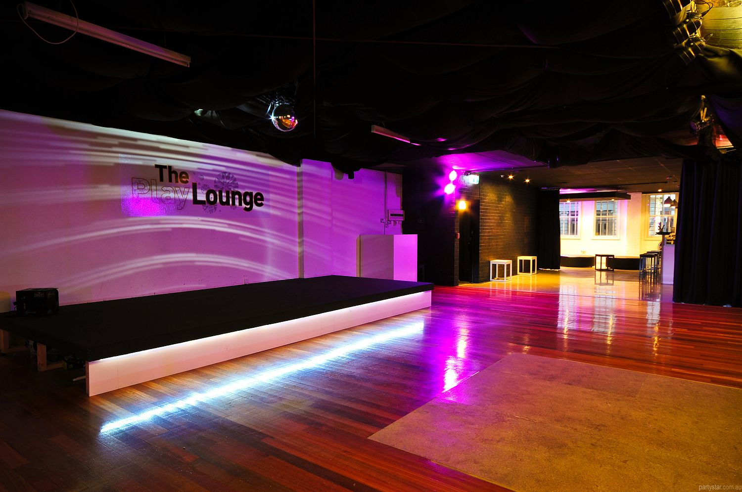 The PlayLounge, St Kilda, VIC. Function Room hire photo #2