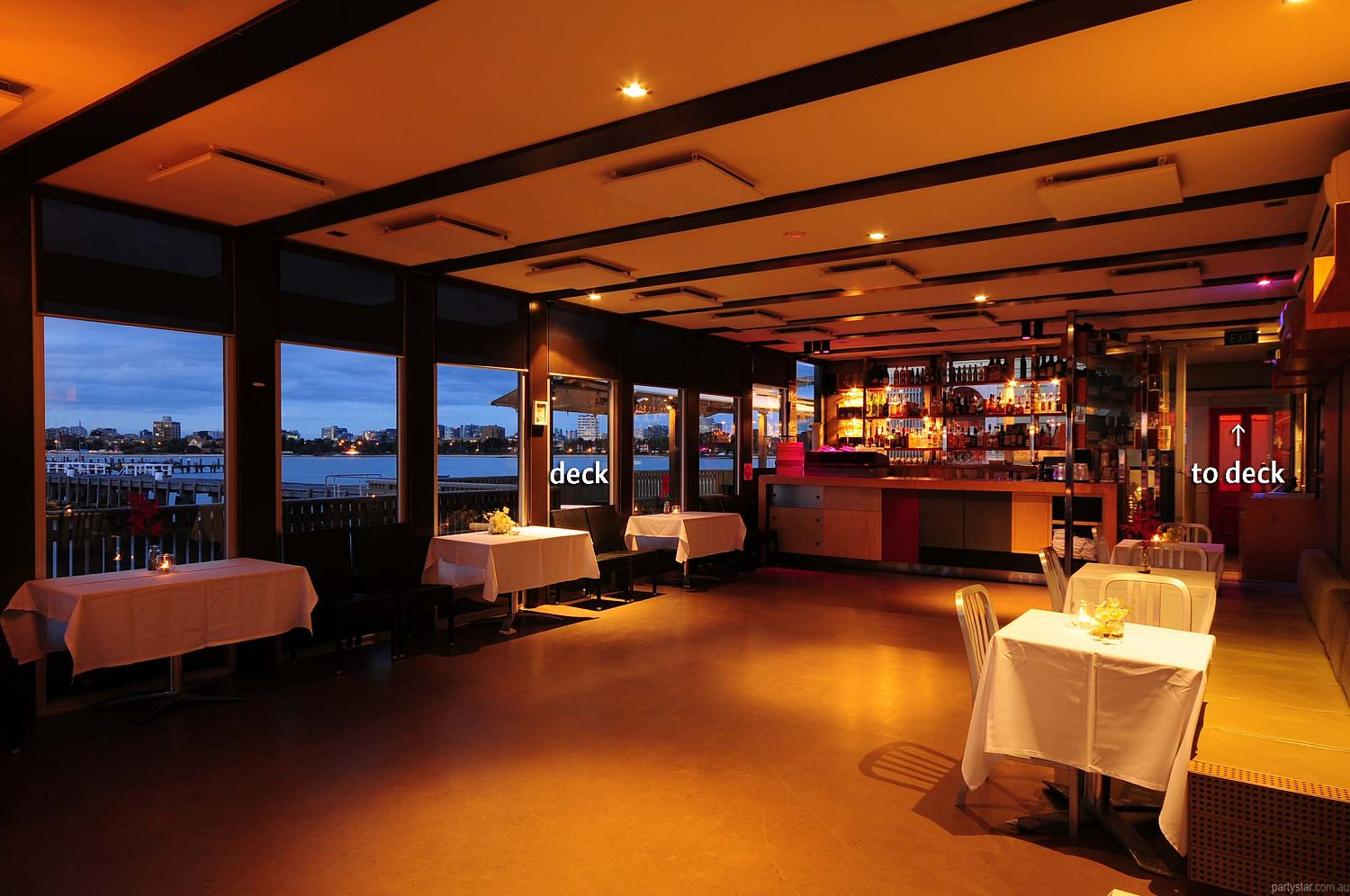 Little Blue on St Kilda Pier, St Kilda, VIC. Function Room hire photo #1