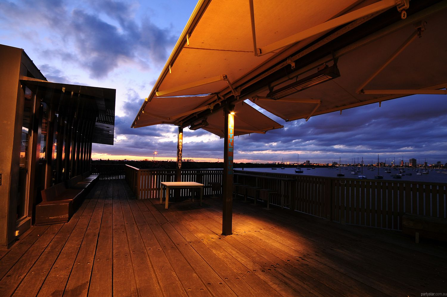 Little Blue on St Kilda Pier, St Kilda, VIC. Function Room hire photo #4