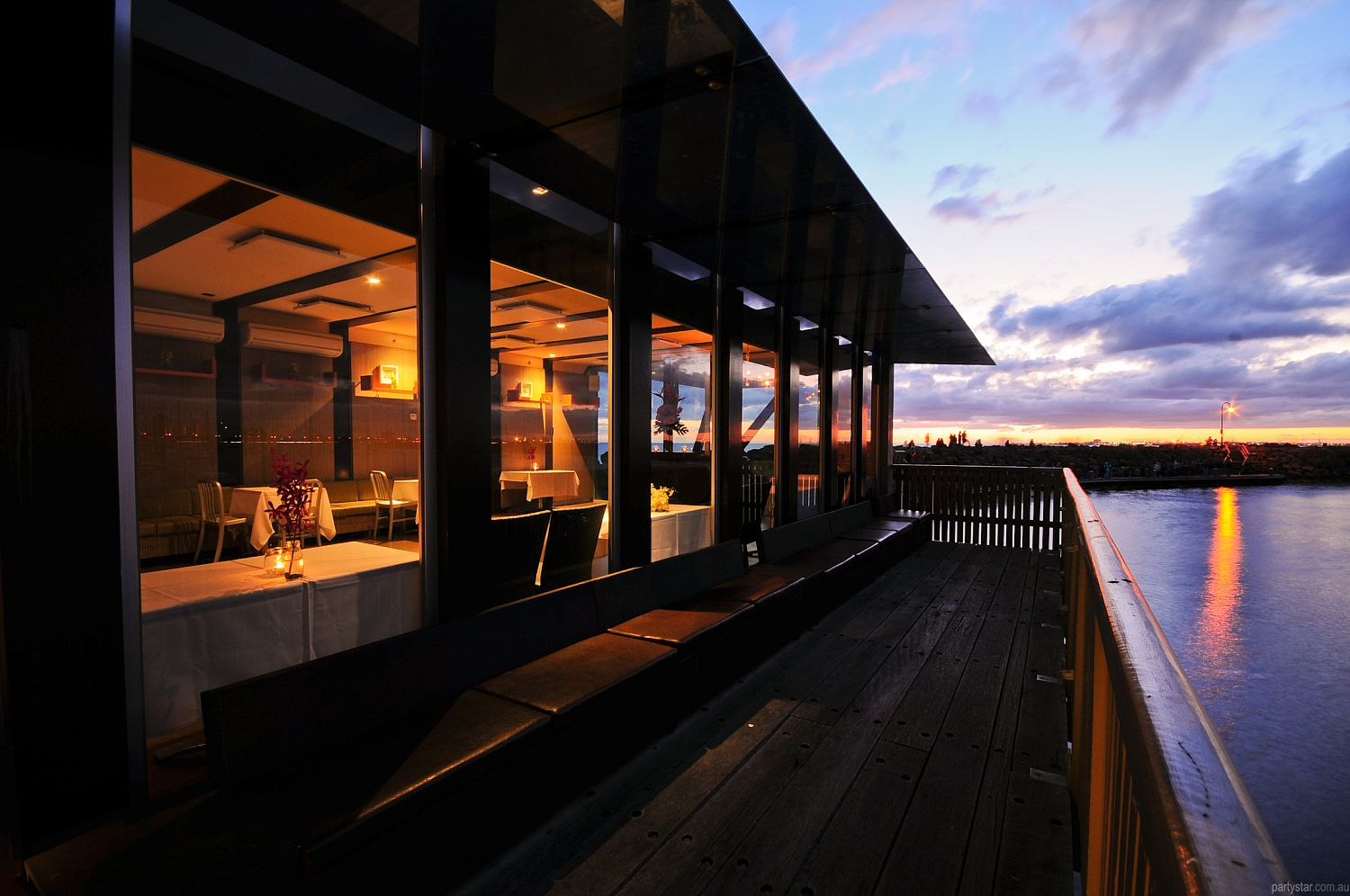 Little Blue on St Kilda Pier, St Kilda, VIC. Function Room hire photo #5