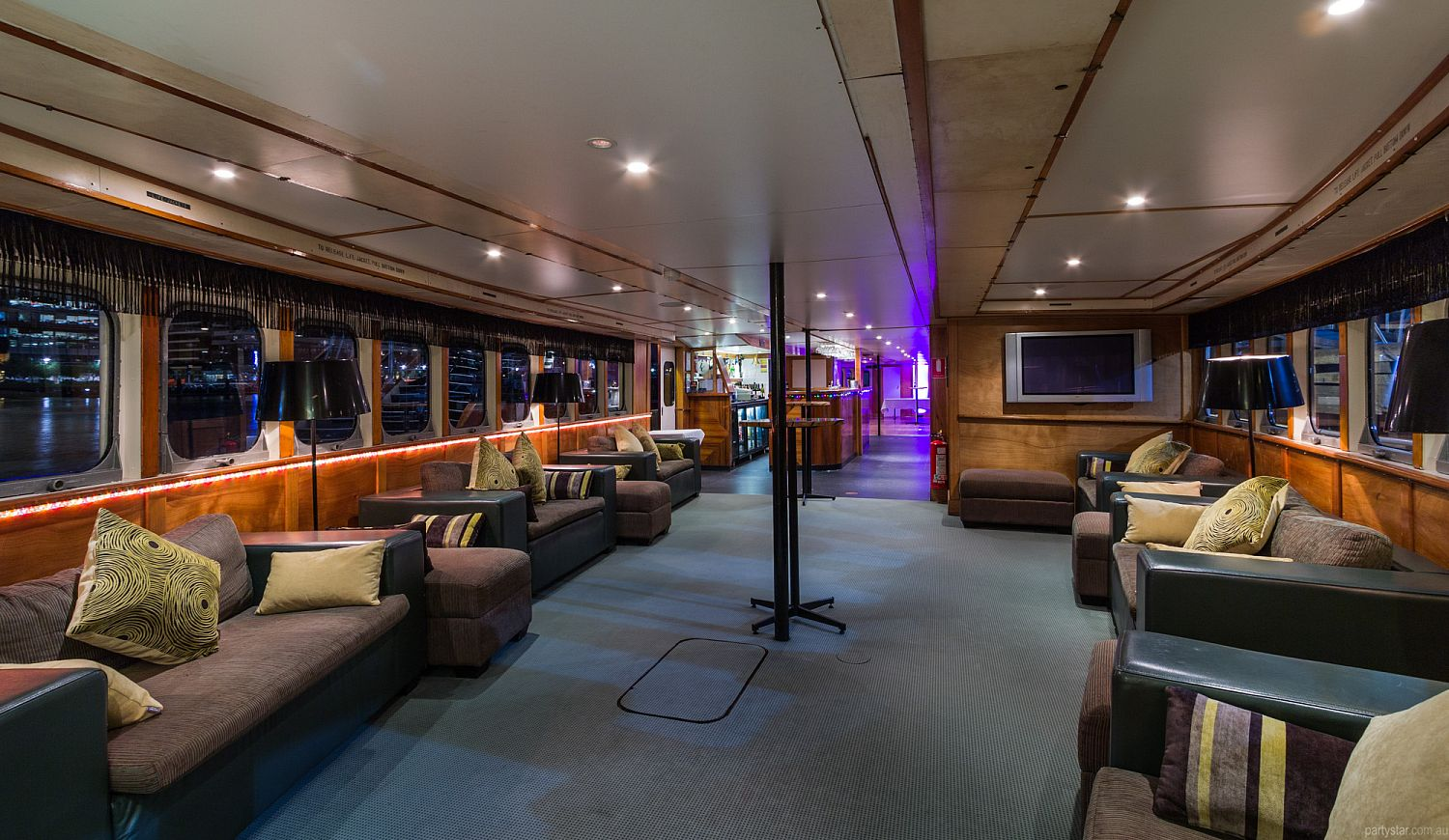 Lady Cutler Showboat, Docklands, VIC. Function Room hire photo #1