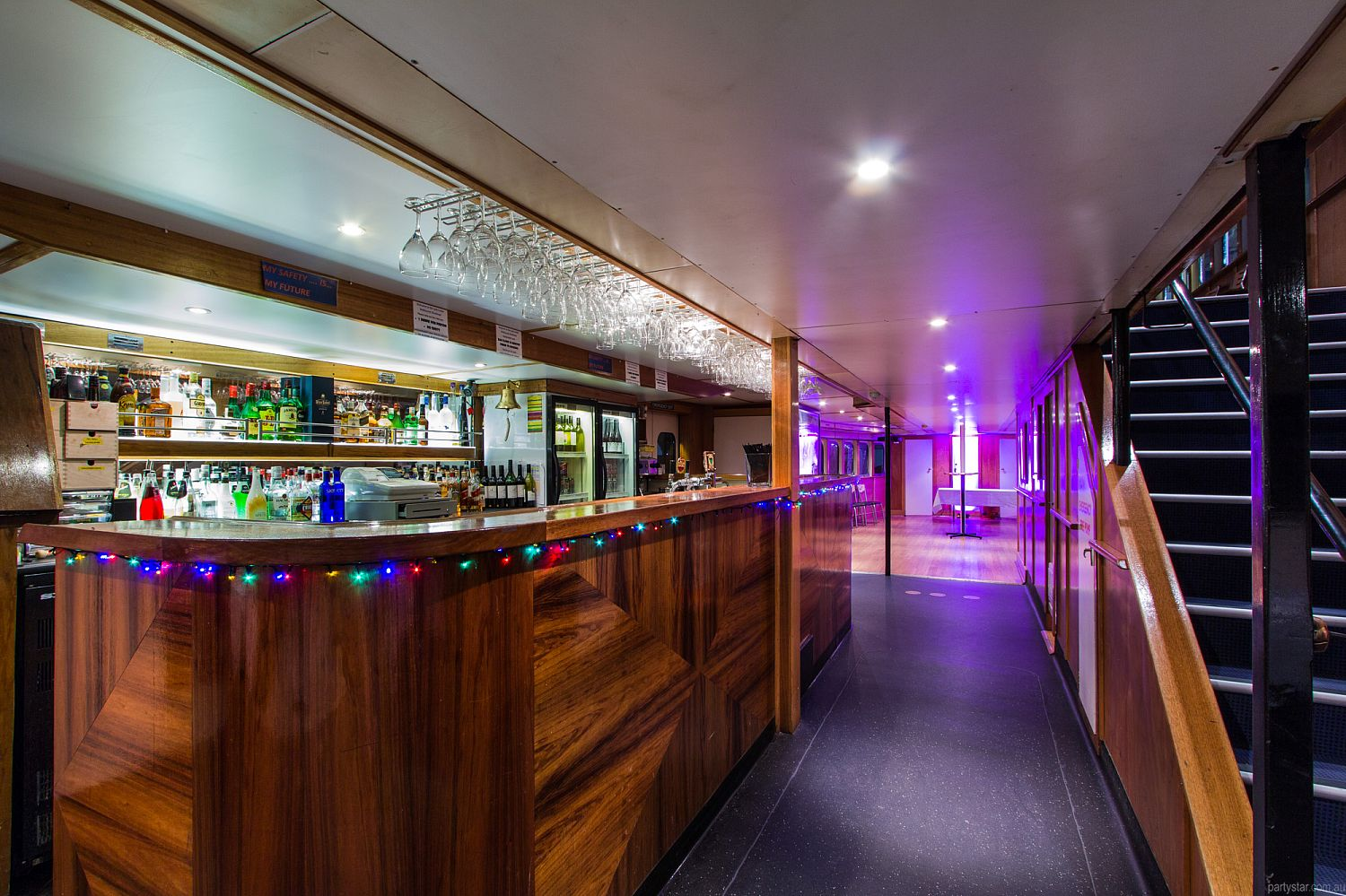 Lady Cutler Showboat, Docklands, VIC. Function Room hire photo #2