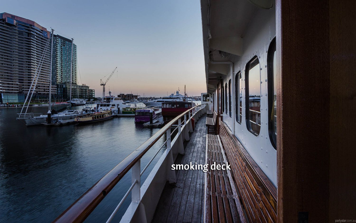Lady Cutler Showboat, Docklands, VIC. Function Room hire photo #4
