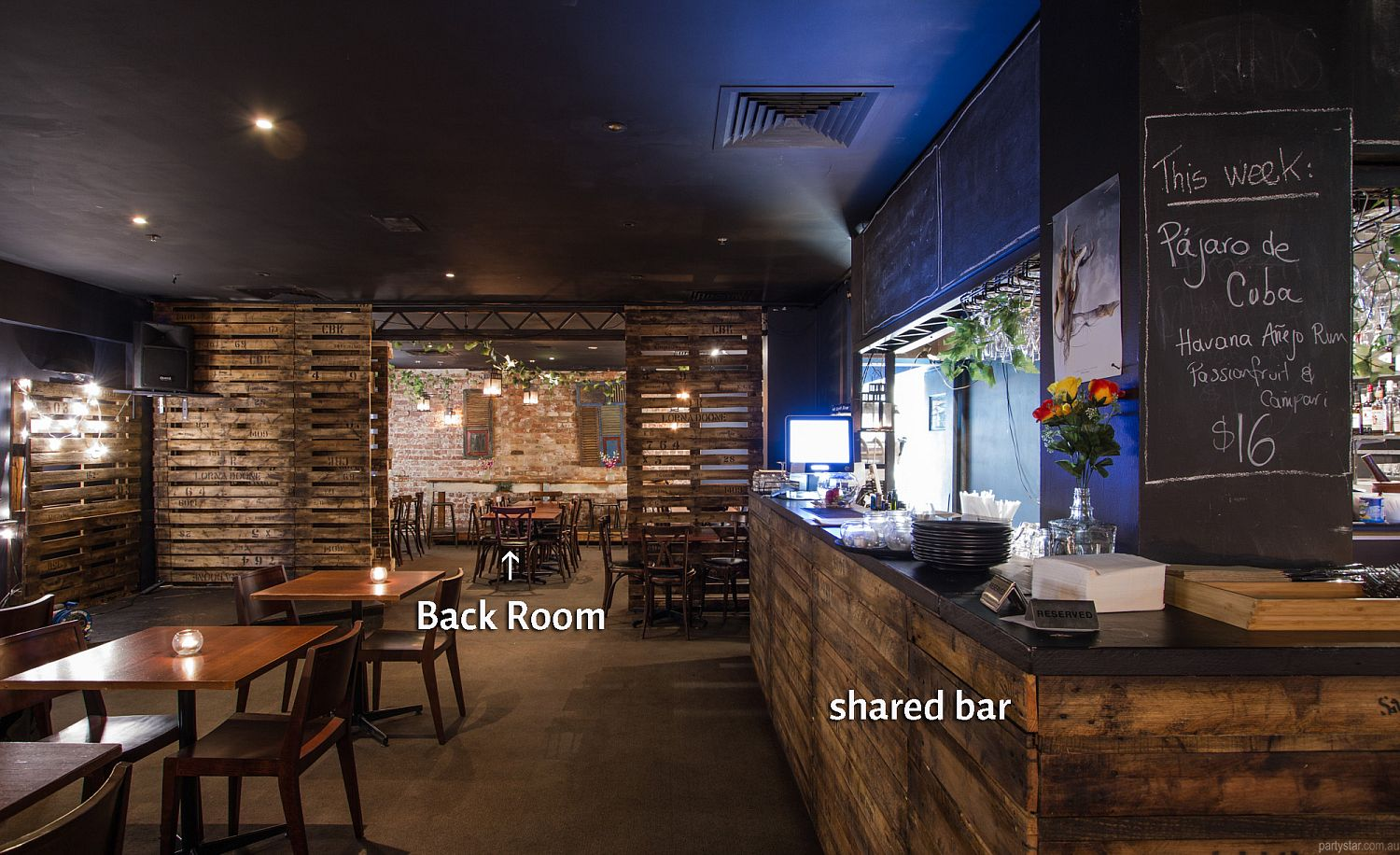 Vamos, Melbourne, VIC. Function Room hire photo #5
