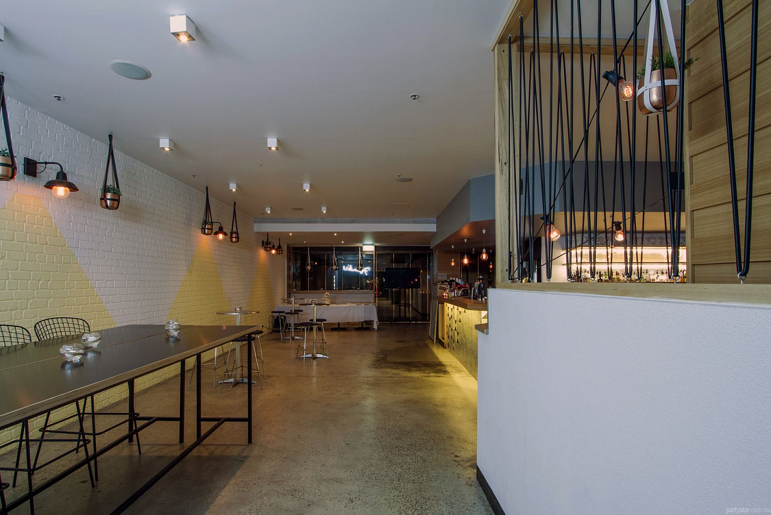 Tazio, Melbourne, VIC. Function Room hire photo #1