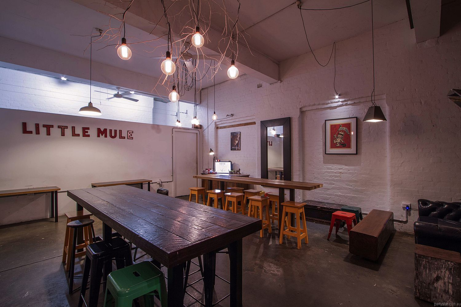 The Little Mule, Melbourne, VIC. Function Room hire photo #5