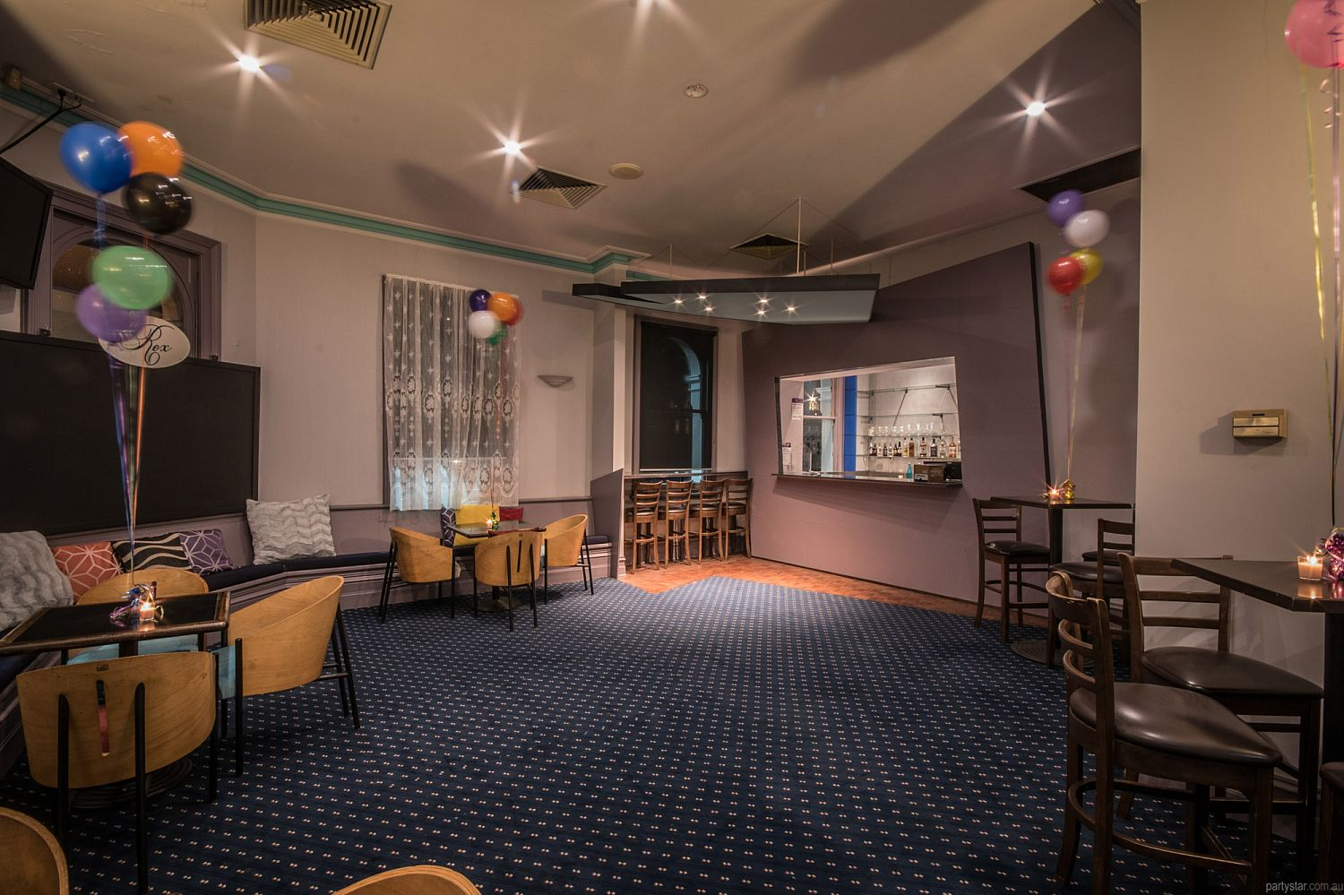 Rex Hotel, Port Melbourne, VIC. Function Room hire photo #1