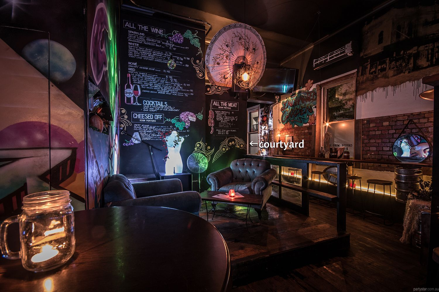 Shifty's, Fitzroy, VIC. Function Room hire photo #3