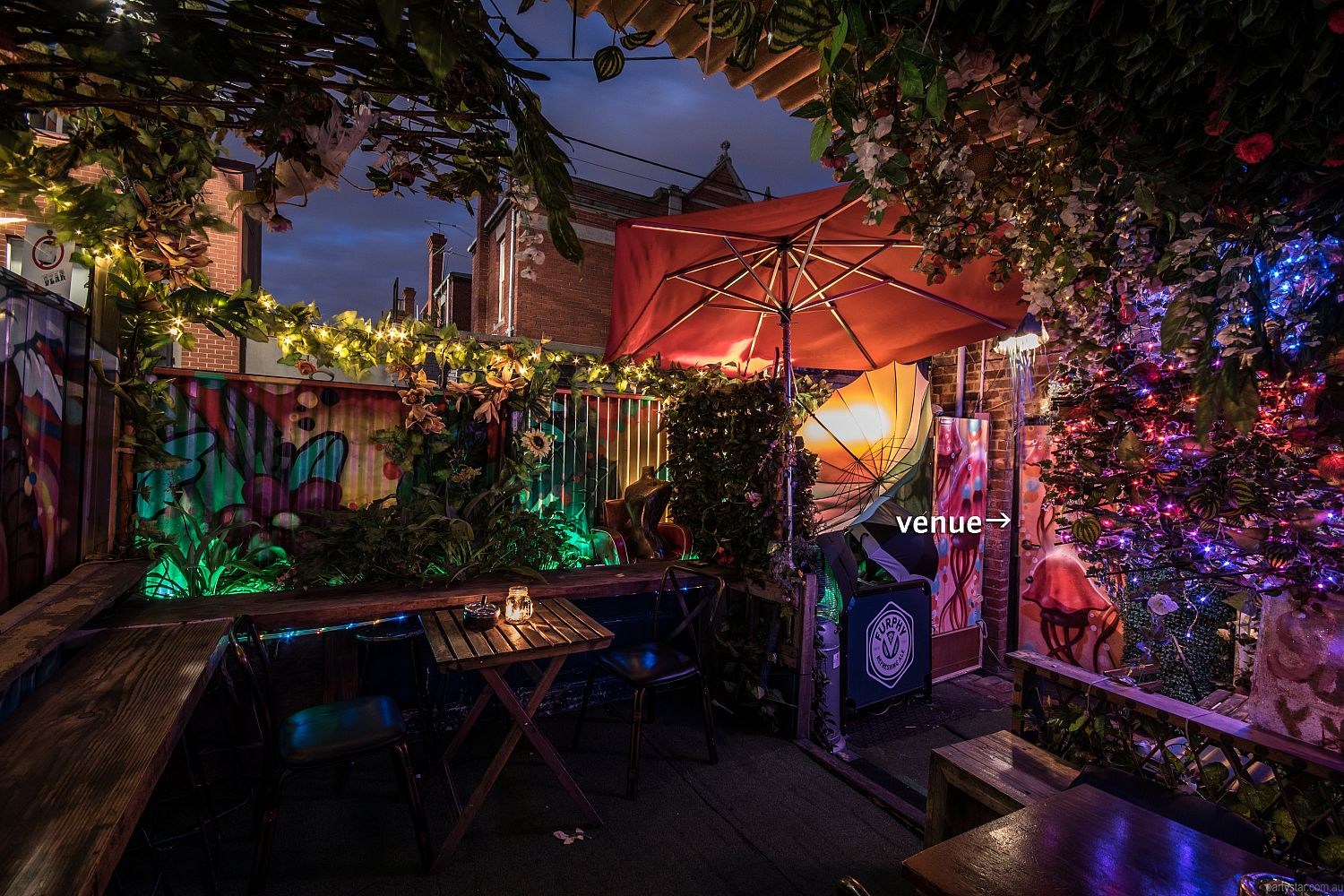Shifty's, Fitzroy, VIC. Function Room hire photo #5