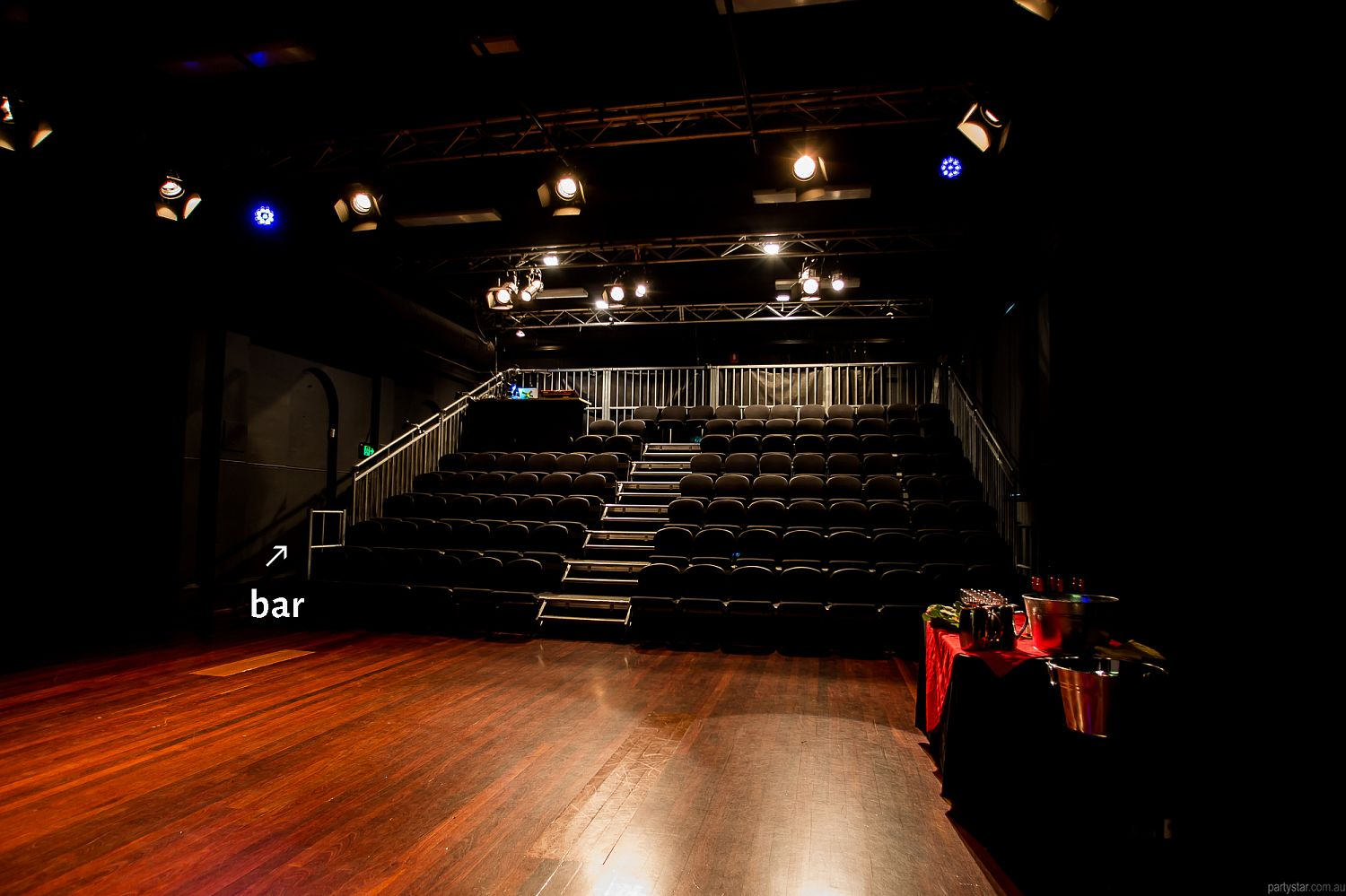 Dancehouse, Carlton North, VIC. Function Room hire photo #4