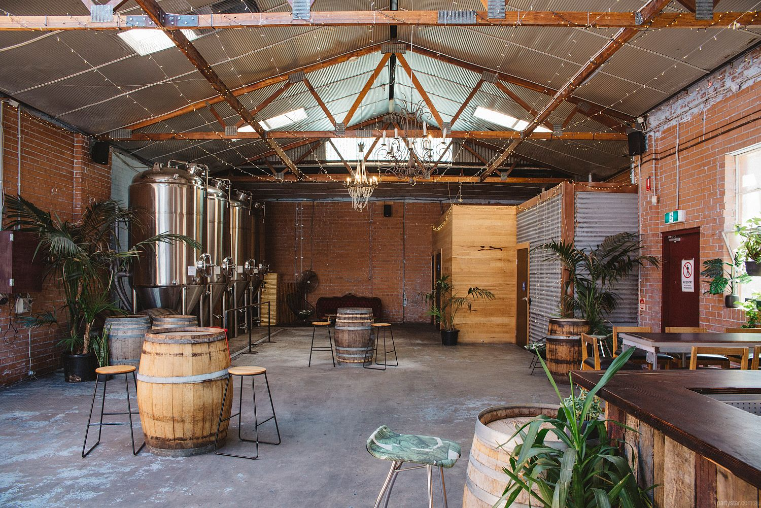 Moon Dog Brewery, Abbotsford, VIC. Function Room hire photo #2