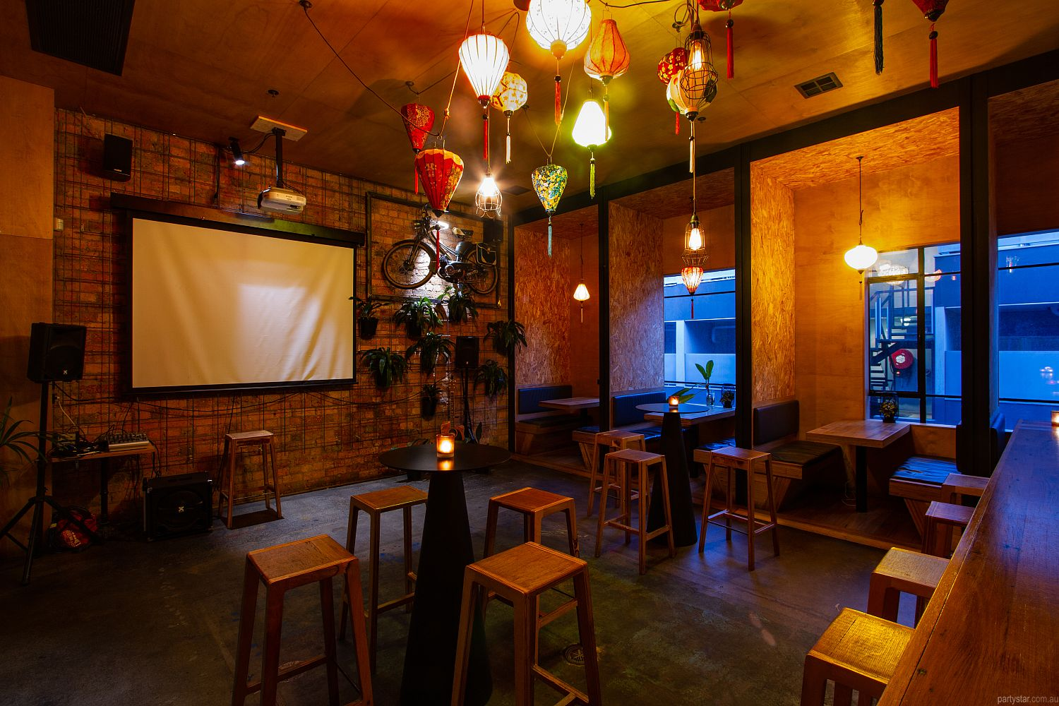 Lantern Lounge, Collingwood, VIC. Function Room hire photo #3