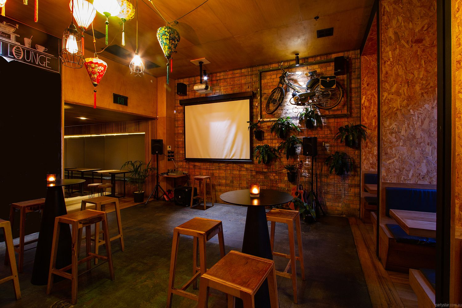 Lantern Lounge, Collingwood, VIC. Function Room hire photo #4