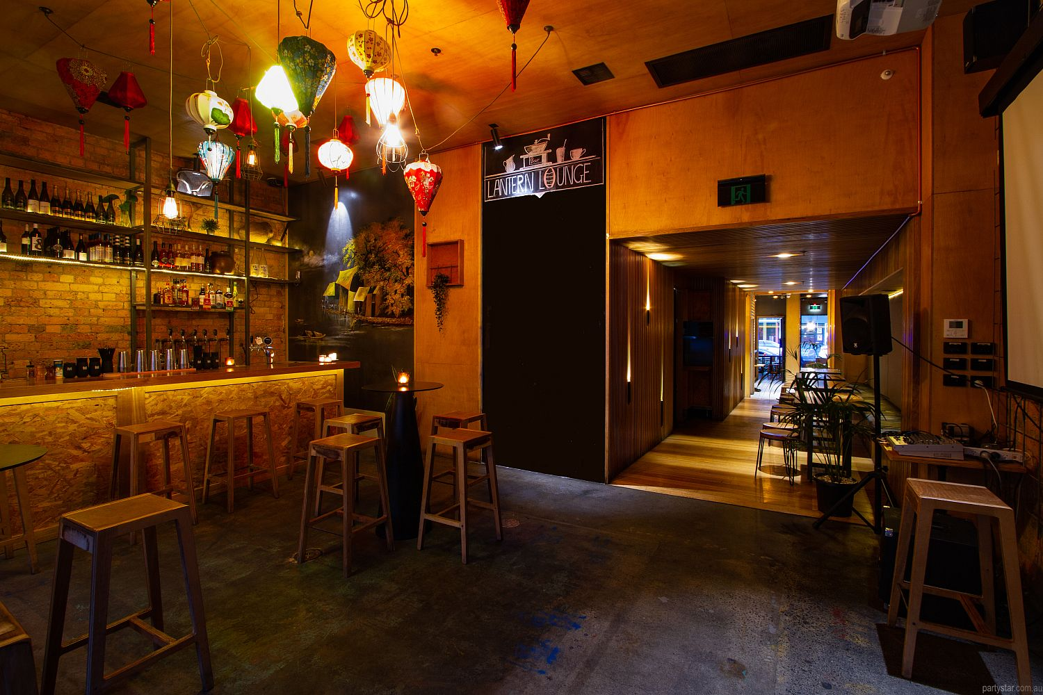 Lantern Lounge, Collingwood, VIC. Function Room hire photo #5