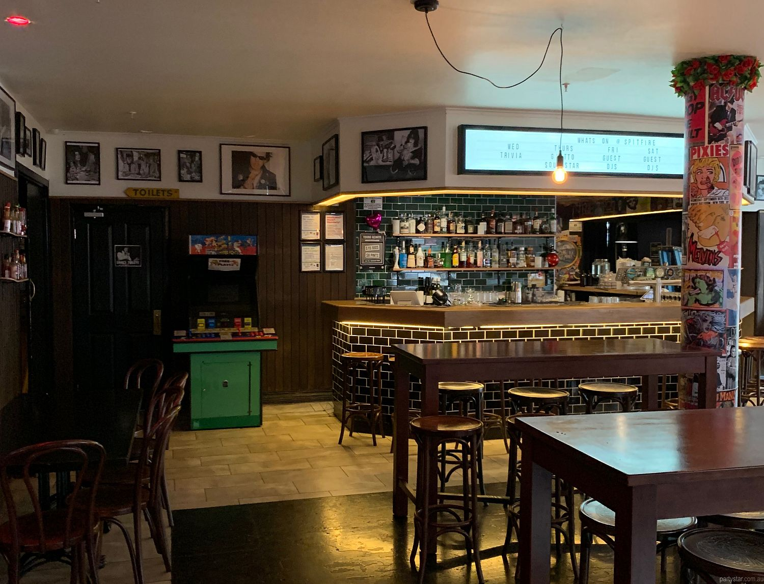 Spitfire, Brunswick, VIC. Function Room hire photo #2