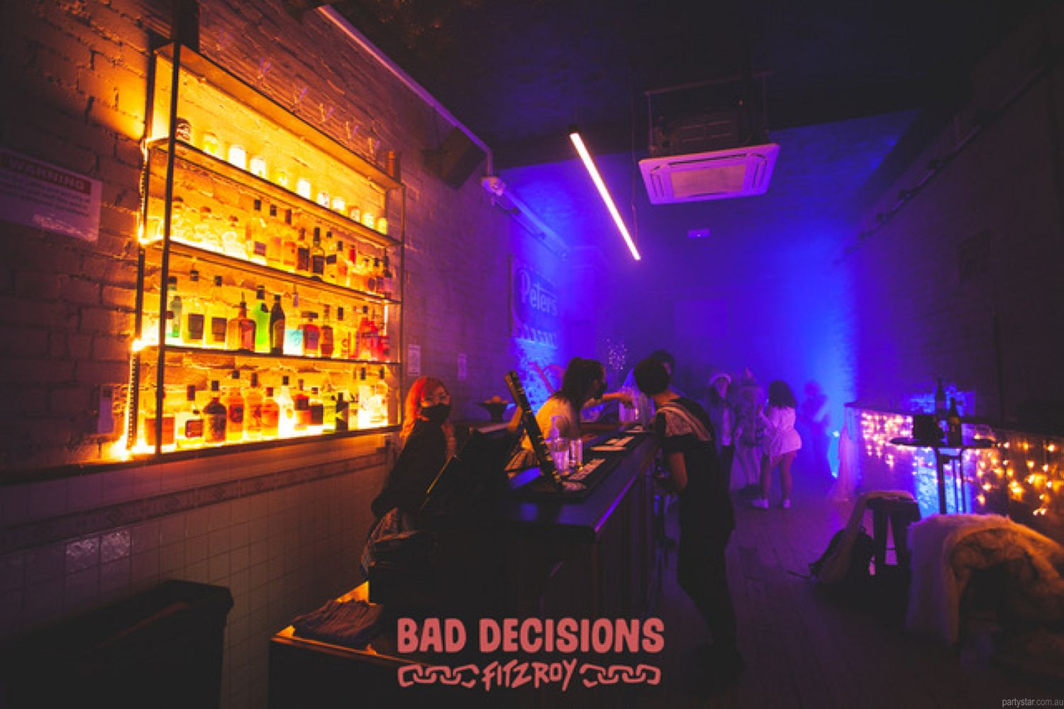 Bad Decisions, Fitzroy, VIC. Function Room hire photo #3